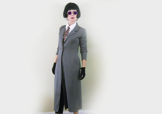 Long Jacket -Vintage Light Coat - Steampunk Clothing - Cosplay