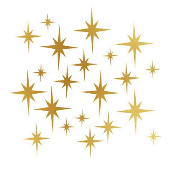 Star Vinyl Wall Sticker Decal Home, Twinkle Twinkle Little Stars Christmas Decorations