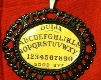 Ouija Board Cameo Necklace