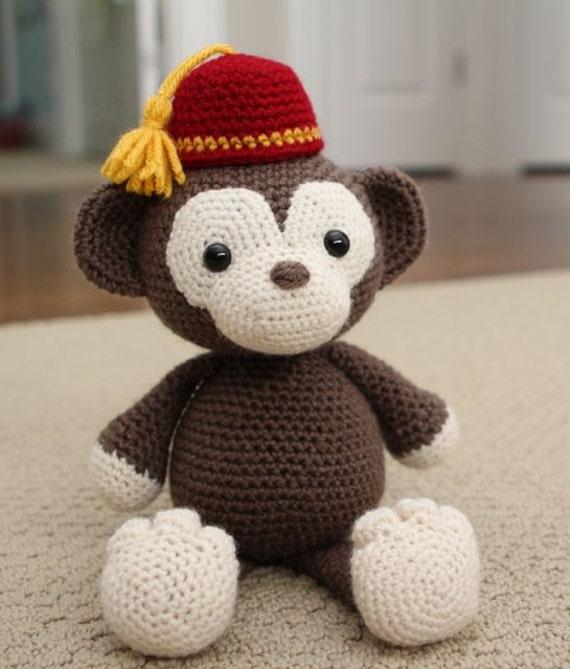 Amigurumi Crochet Monkey : Crochet Amigurumi Pattern Simi the Monkey