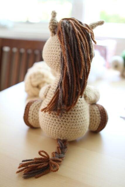 Amigurumi Year Of The Horse : Amigurumi Crochet Pattern - Lucky the Horse from ...