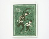 Merry Krampus Card 1pc
