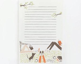 Book Club Notepad
