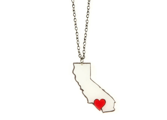 California (SoCal) Love Necklace