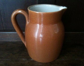 Vintage French Milk Jug Pitcher circa 1950's / English Shop