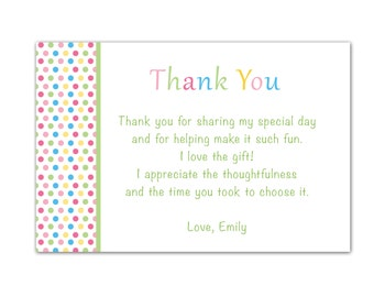 Popular items for baby shower thank you card note on Etsy