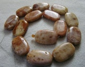 Beautiful  Strand  Of  Agate  Rounded  Rectangles