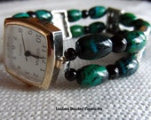 """Beaded Stretch Watch Band 7"""""""