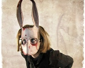 Leather Horror Rabbit Mask By Katie Lawter