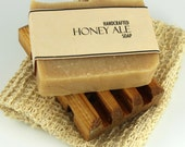 Honey Ale Beer Soap, Cold Process Soap made with Saranac Beer
