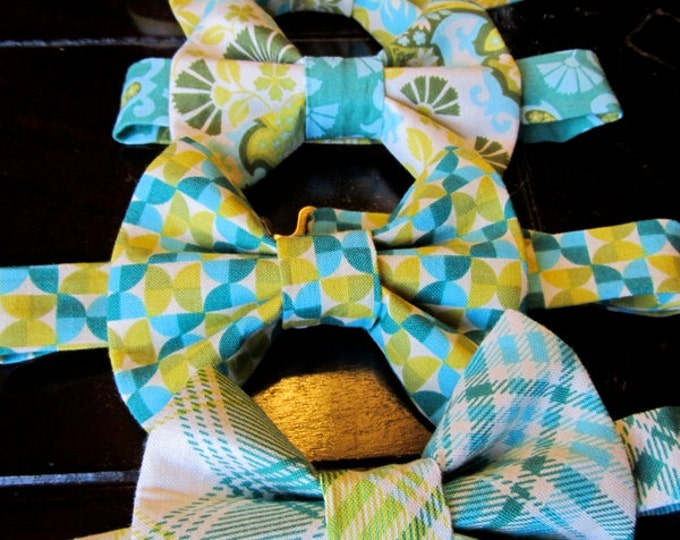 Bow Ties, Boys Bow Ties, Yellow Bow Ties, Wedding Bow Tie, Bow Ties Handmade by Two L Creations