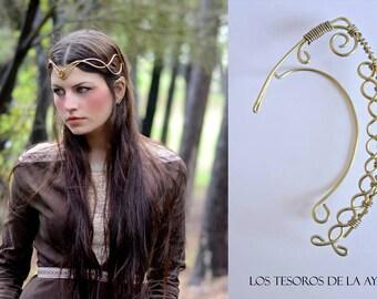 original handmade by ayalga etsy  - elven ear - ear cuff - elvish earring - elf ear