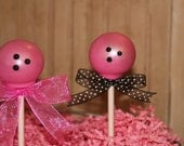 Mom's Killer Cakes & Cookies Bowling Ball Cake Pops You Pick Your Color and Flavor