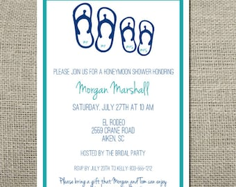bon voyage honeymoon travel theme wedding shower by craftandhoney, Bridal shower invitations