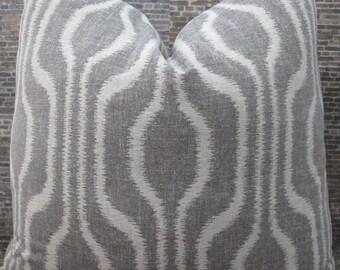3BM Designer Pillow Cover Lumbar, 16 x 16, 18 x 18, 20 x 20, 22 x 22 - Rata Geometric Ikat