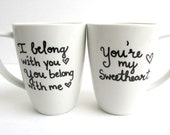 The Lumies - Hand Painted The Lumineers inspired coffee mugs