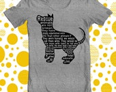 Dog lover/mixed breed/Rescue Dog/T Shirt/Original/Unique/silk Screen/Short Sleeve/Unisex/SMALL/rescue dogs are not Broken Dogs/Sport Gray