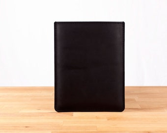 Handmade Leather iPad Air Case / Sleeve - Black