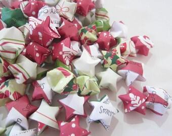 SALE 110 Smitten Christmas Origami Stars