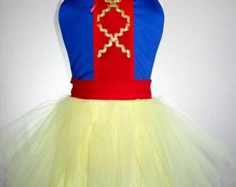 Child Snow White Tutu Apron