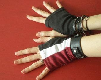Space Commander fingerless gloves