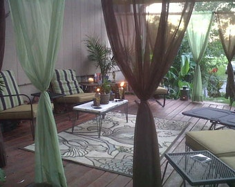 Sunbrella Outdoor Curtains/Sheers