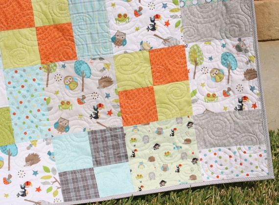 Layer Cake Quilt Pattern, Whimsy, Moda Baby Quilt and ...