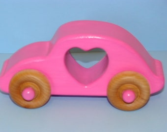 LOVE BUG Wooden Car -  Love All Around - a great gift idea