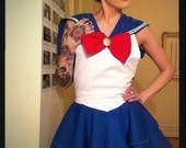 Costume apron inspired by Sailor Moon