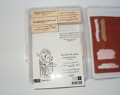Stampin Up Rubber Stamp Set Sassie Susie - used