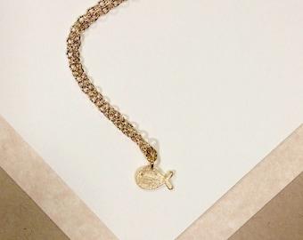 Gold Baby Whale Necklace, Nautical, love, anniversary, engagement, handmade jewelry, mom, wife, girlfriend, sale, birthday, christmas