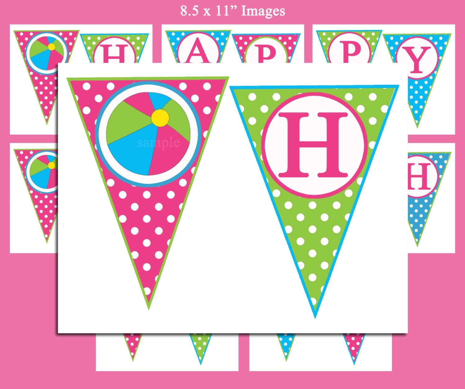 It's just an image of Sassy Printable Happy Birthday Banner