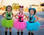 Power Puff girls inspired costumes Blossom