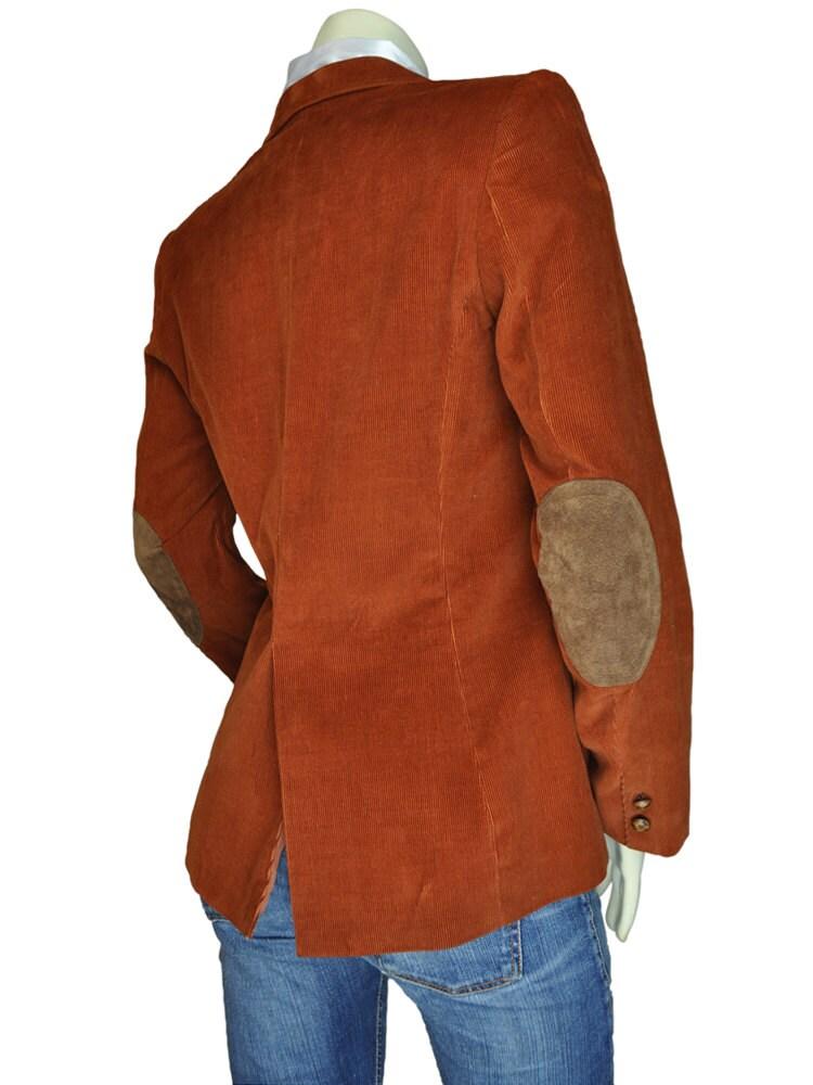 Womens brown corduroy jacket