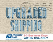 Upgraded Shipping - Priority Mail