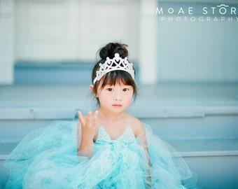 Baby Tiara Princess Headband- I'm in Love- Princess Crown,1st Birthday crown, baby tiara, girls tiara, baby hair, princess birthday tiara