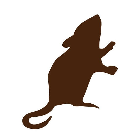 Barn Mouse Wall Stencil For Painting Kids Or Baby Room Mural