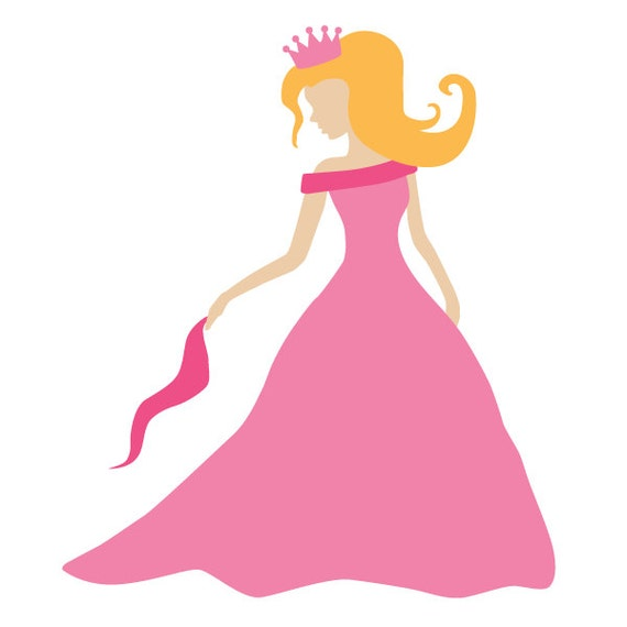 Princess wall stencil for painting kids or baby room mural for Disney wall stencils for painting kids rooms