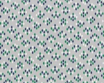 Color Me Happy by V. & Co. for Moda in Cluster Drops  Gray   - 1 yard