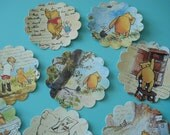 Winnie The Pooh Stickers, Winnie Label, baby shower label, birthday label, Gift Wrap Baby Shower, Winnie the pooh theme