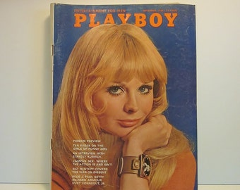 Vintage Playboy Magazine - September 1968 - Vol. 15 No. 9 - Adult