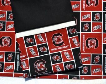 USC - University of South Carolina pillow case - handmade - fits std/queen