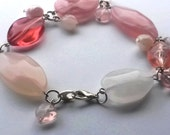 Ethereal Blush Beaded Bracelet
