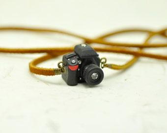 Nikon D7100 DSLR Camera miniature necklace