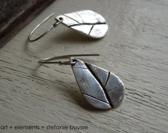 "ARTisan Made ""Early Fall"" Earrings - Sterling Silver - OOAK"