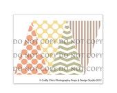 INSTANT DOWNLOAD : Digital Photography Prop Bunting Designs - Baby Love