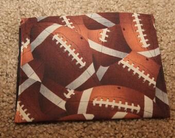 Reusable Snack Bag-Football