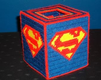 Single Superhero Tissue box cover