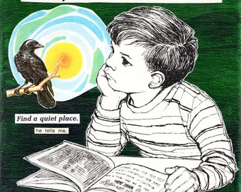 A Boy, A Bird, and a Book