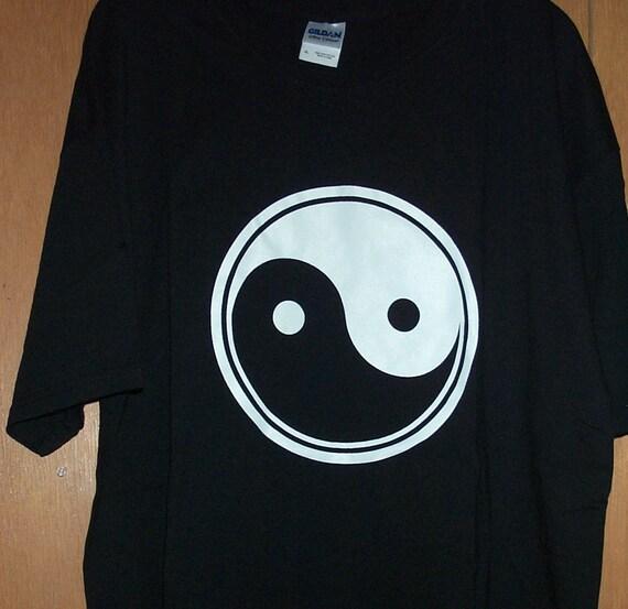 Hand Printed Yin Yang T-Shirt